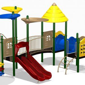 Parques infantiles en madera, en metal y playground